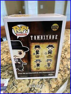 Val Kilmer signed Tombstone funko limited to 100 JSA Witness Coa