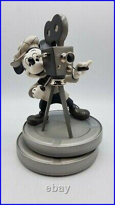 WDCC Mickey Mouse Behind The Camera Limited, Signed + Box & COA
