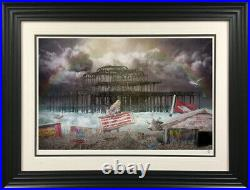 WEST PIER, 2019 By JJ Adams Framed Signed Limited Edition of 95 With COA