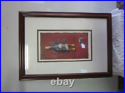 Will Bullas Duck Tape Limited Edition Print, Signed, Numbered, Framed with COA
