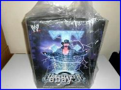 Wwe Coa Icons Series Undertaker Limited Edition Resin Statue 1/50 Artist Signed