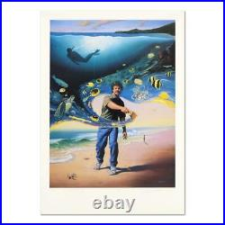 Wyland Another Day at the Office Signed Limited Edition Art COA
