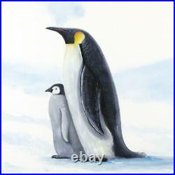 Wyland Antarctic Penguins Signed Canvas Limited Edition Art COA