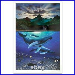 Wyland Dawn of Creation Signed Limited Edition Art COA