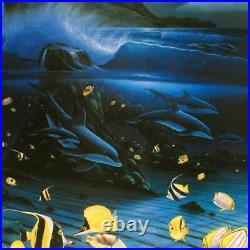 Wyland Hanalei Bay Signed Limited Edition Art COA