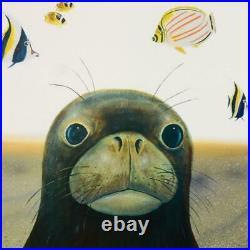 Wyland Hawaiian Sea Life Signed Limited Edition Art COA