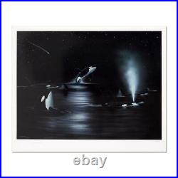 Wyland Orca Starry Night Signed Limited Edition Art COA