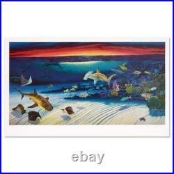 Wyland Sea Life Below Signed Limited Edition Art COA