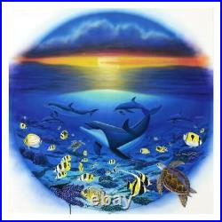 Wyland Sea of Life Signed Canvas Limited Edition Art COA