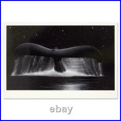 Wyland Sea of Stars Hand Signed Limited Edition Art lithograph whale tail COA